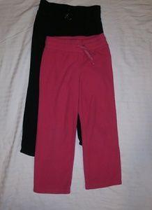 Other - LOT 2 girls warm fleece pants 6-6X